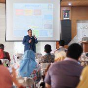 dekan ftsp uii memberikan sambutan pada pertemuan orang tua wali mahasiswa baru tahun 2017